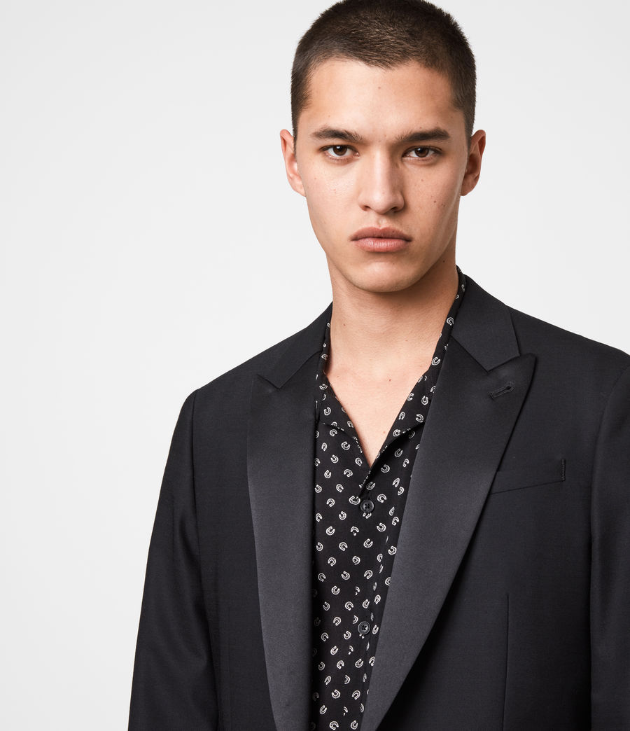 Men's Fulbeck Blazer (black) - Image 4