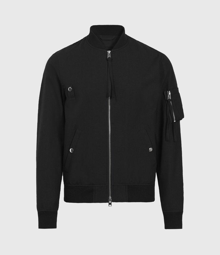 Men's Neo Bomber Jacket (black) - Image 2