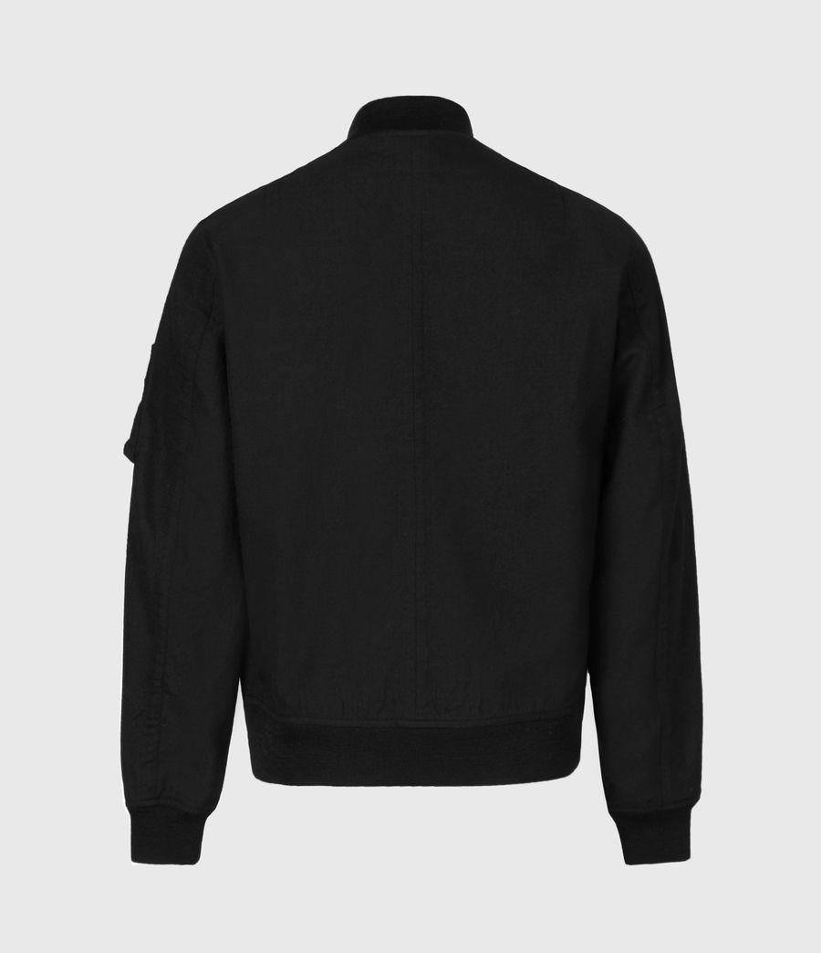 Men's Neo Bomber Jacket (black) - Image 3