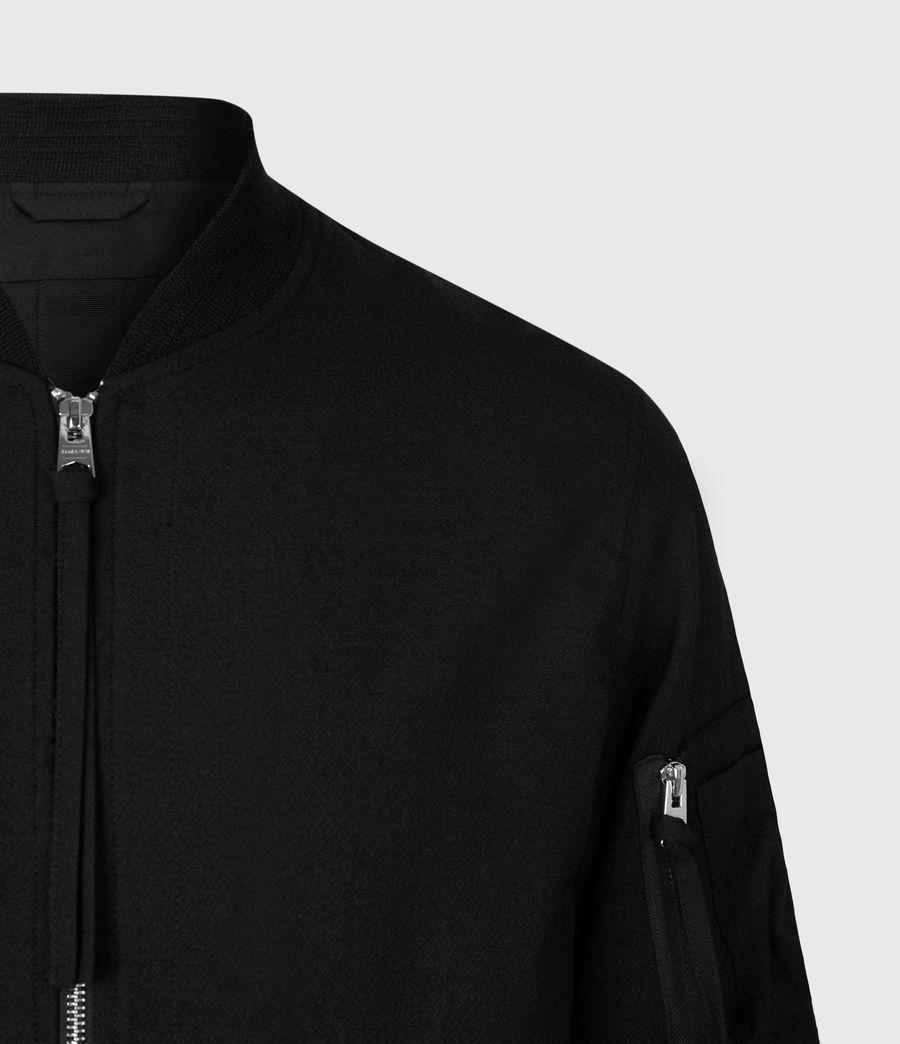 Men's Neo Bomber Jacket (black) - Image 5
