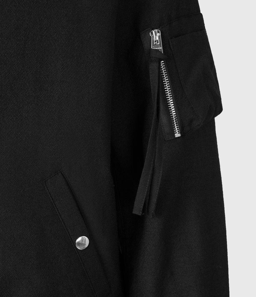 Men's Neo Bomber Jacket (black) - Image 6