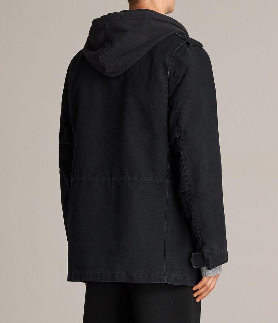 Hombres Chaqueta Corp (black) - Image 7