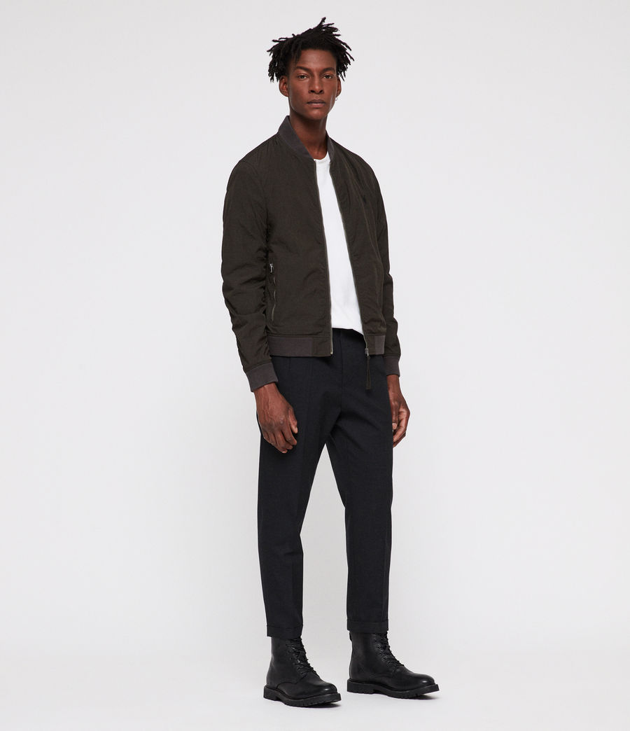 Uomo Fleet Bomber Jacket (shadow_khaki_green) - Image 1