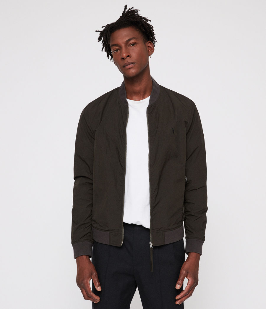 Uomo Fleet Bomber Jacket (shadow_khaki_green) - Image 3