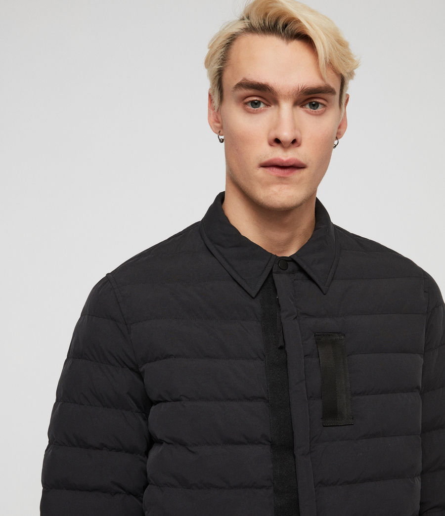 Men's Hughes Jacket (black) - Image 2