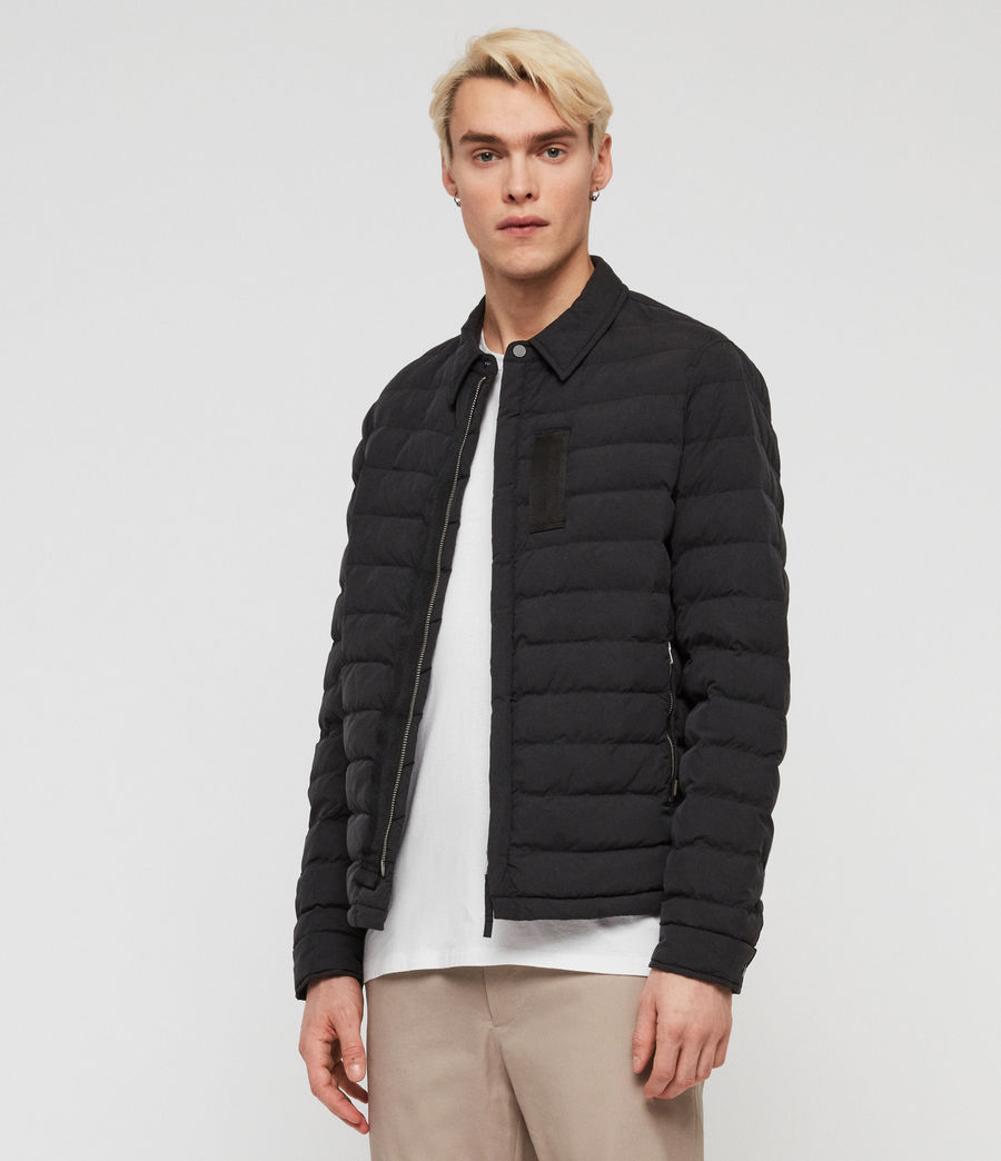 Men's Hughes Jacket (black) - Image 3