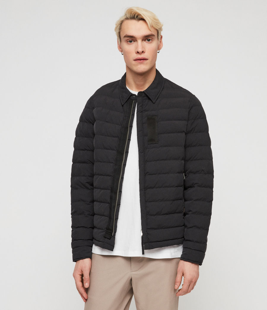 Men's Hughes Jacket (black) - Image 4