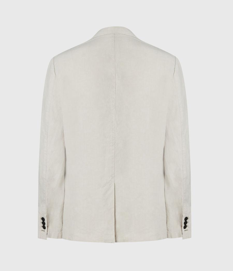 Hombres Vaga Linen Blend Blazer (clay_grey) - Image 2