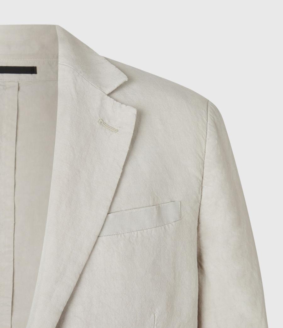 Men's Vaga Linen Blend Blazer (washed_black) - Image 3