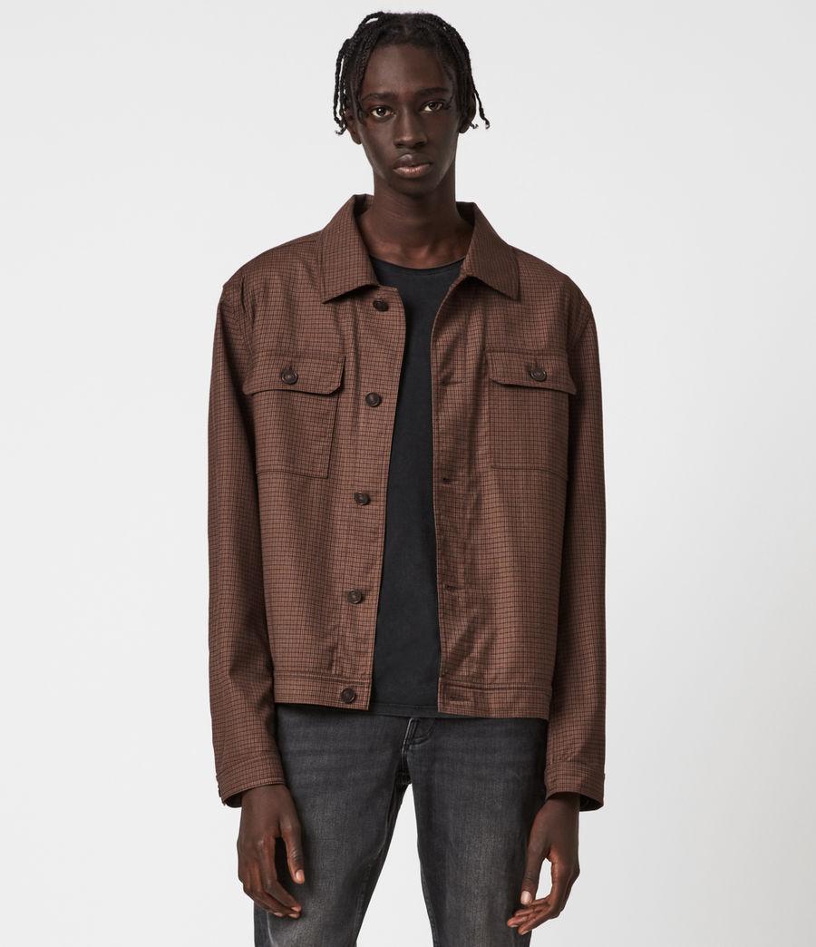 Men's Arlo Wool-Blend Jacket (tan) - Image 1