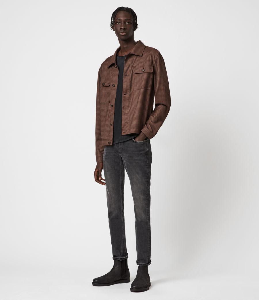 Men's Arlo Wool-Blend Jacket (tan) - Image 4