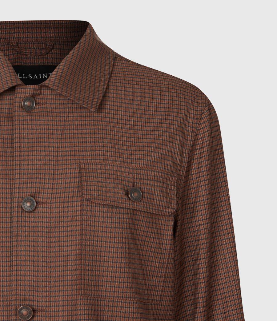 Men's Arlo Wool-Blend Jacket (tan) - Image 5