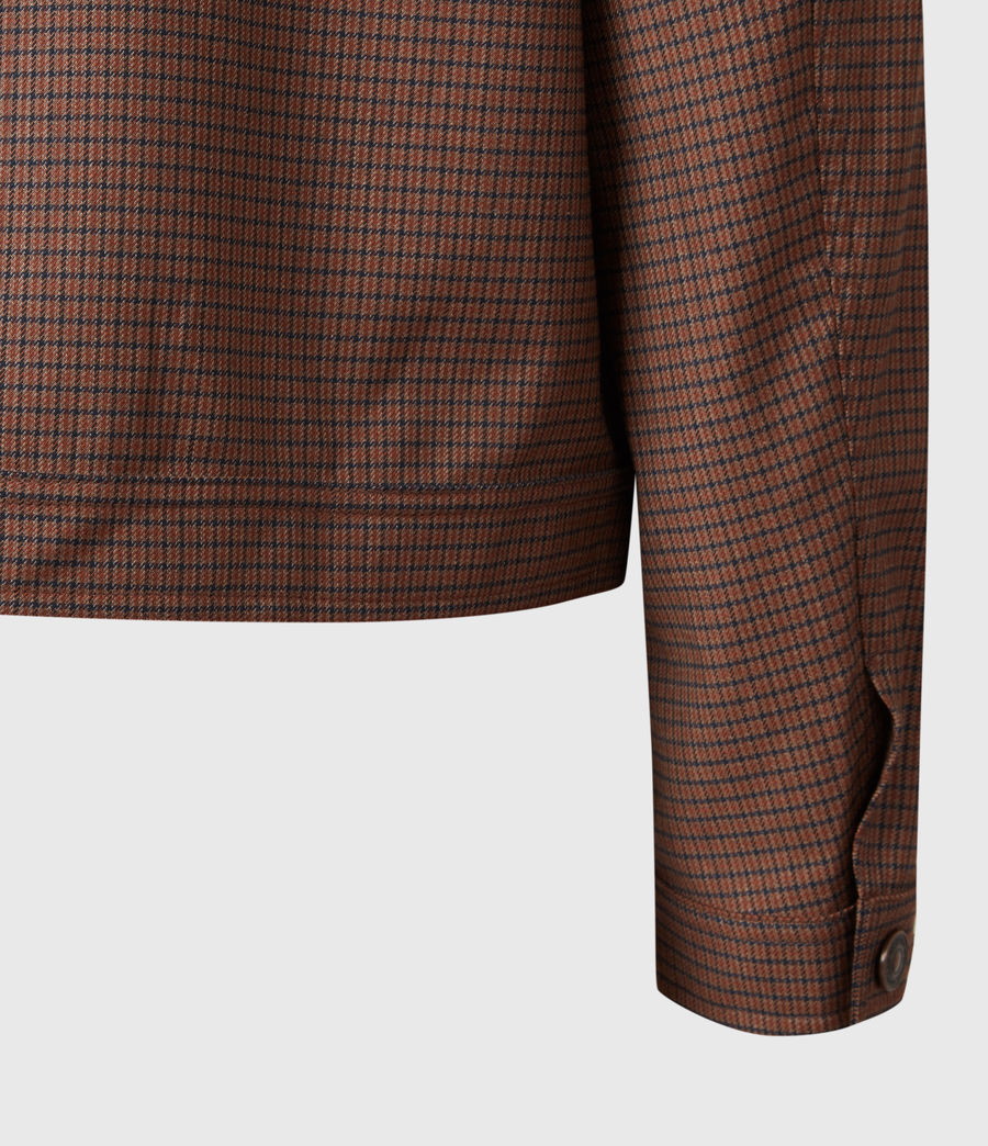 Men's Arlo Wool-Blend Jacket (tan) - Image 6