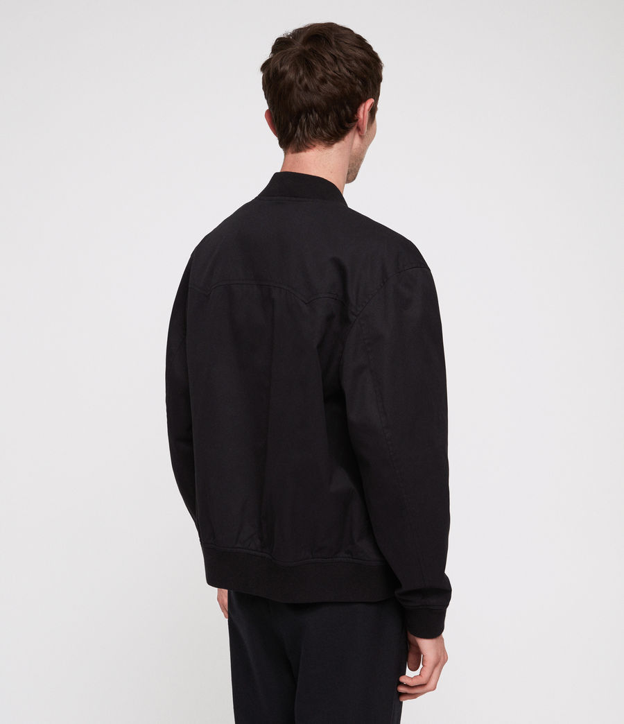 Herren Norton Bomberjacke (black) - Image 5
