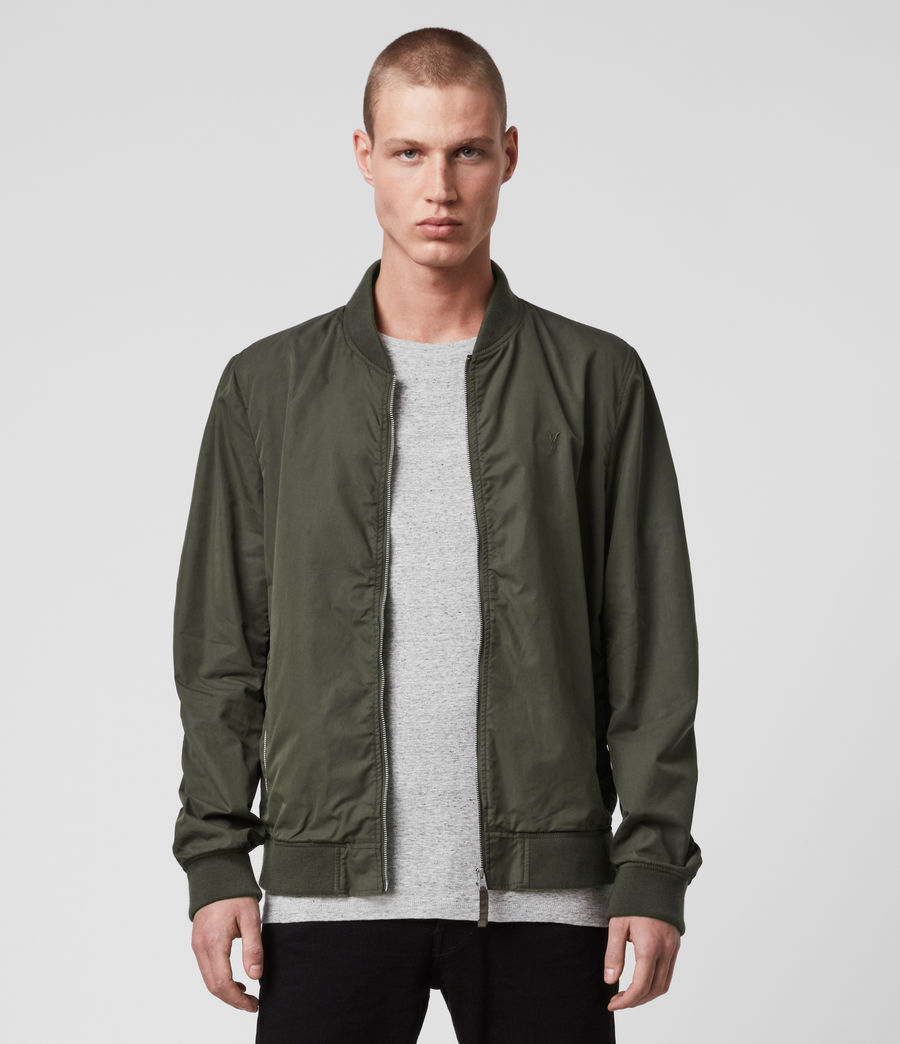 Men's Bassett Bomber Jacket (khaki_green) - Image 1