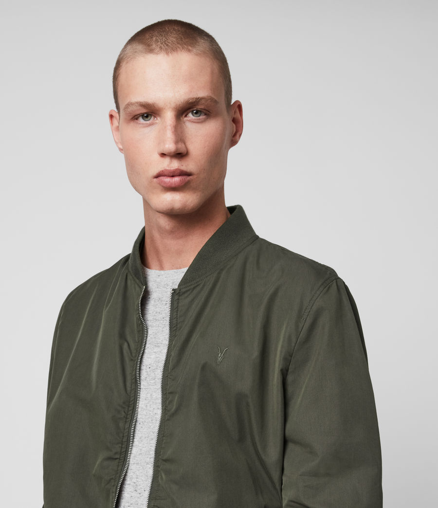 Men's Bassett Bomber Jacket (khaki_green) - Image 2