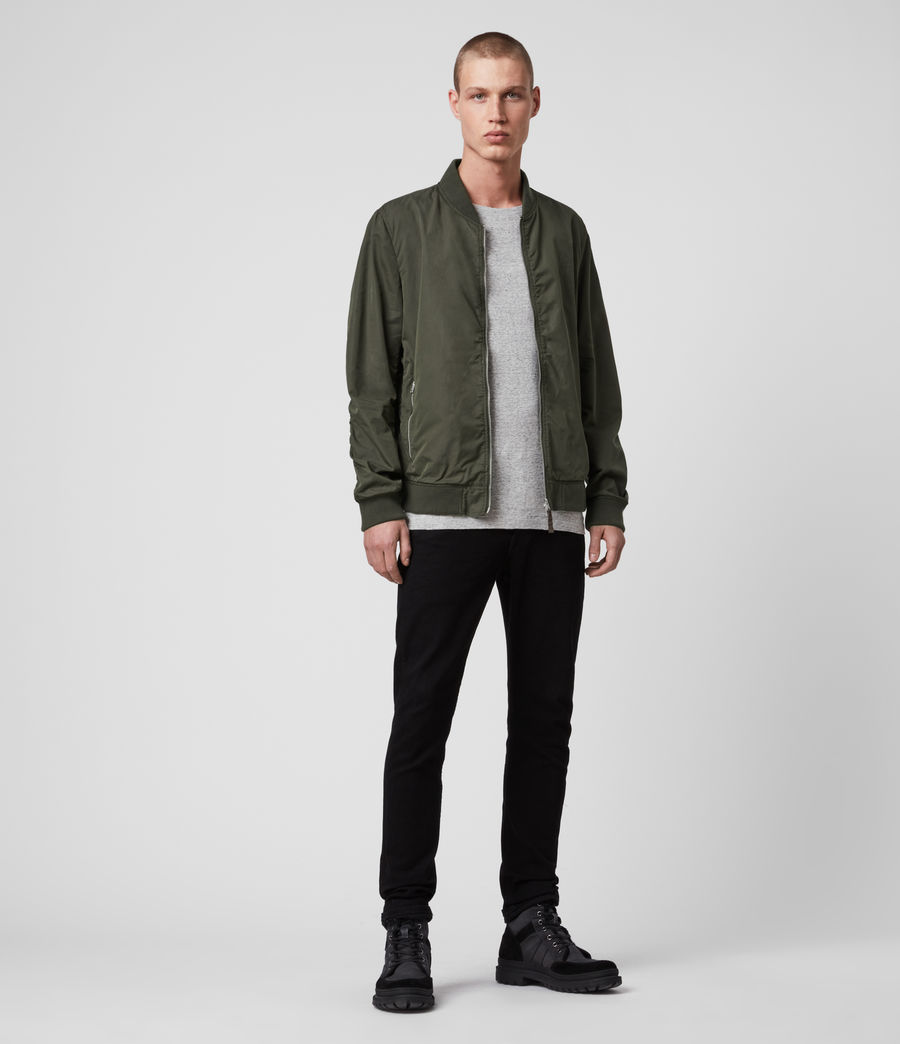 Men's Bassett Bomber Jacket (khaki_green) - Image 3