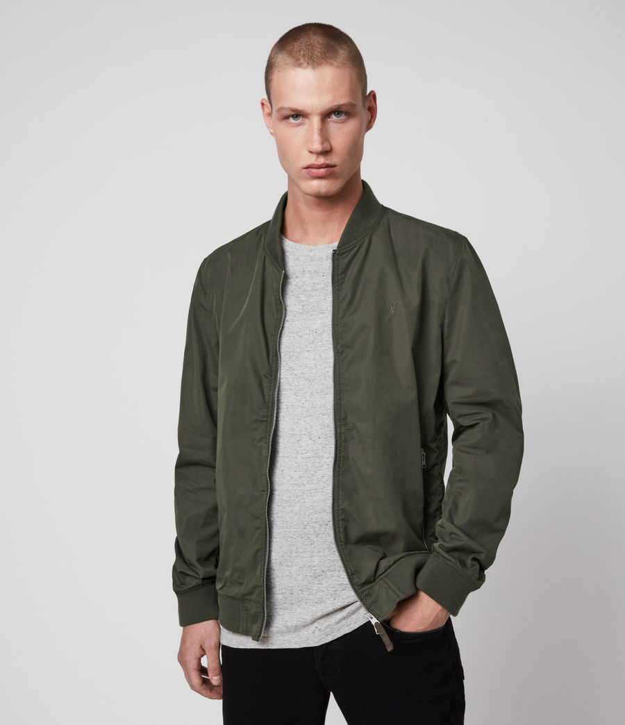 Men's Bassett Bomber Jacket (khaki_green) - Image 4