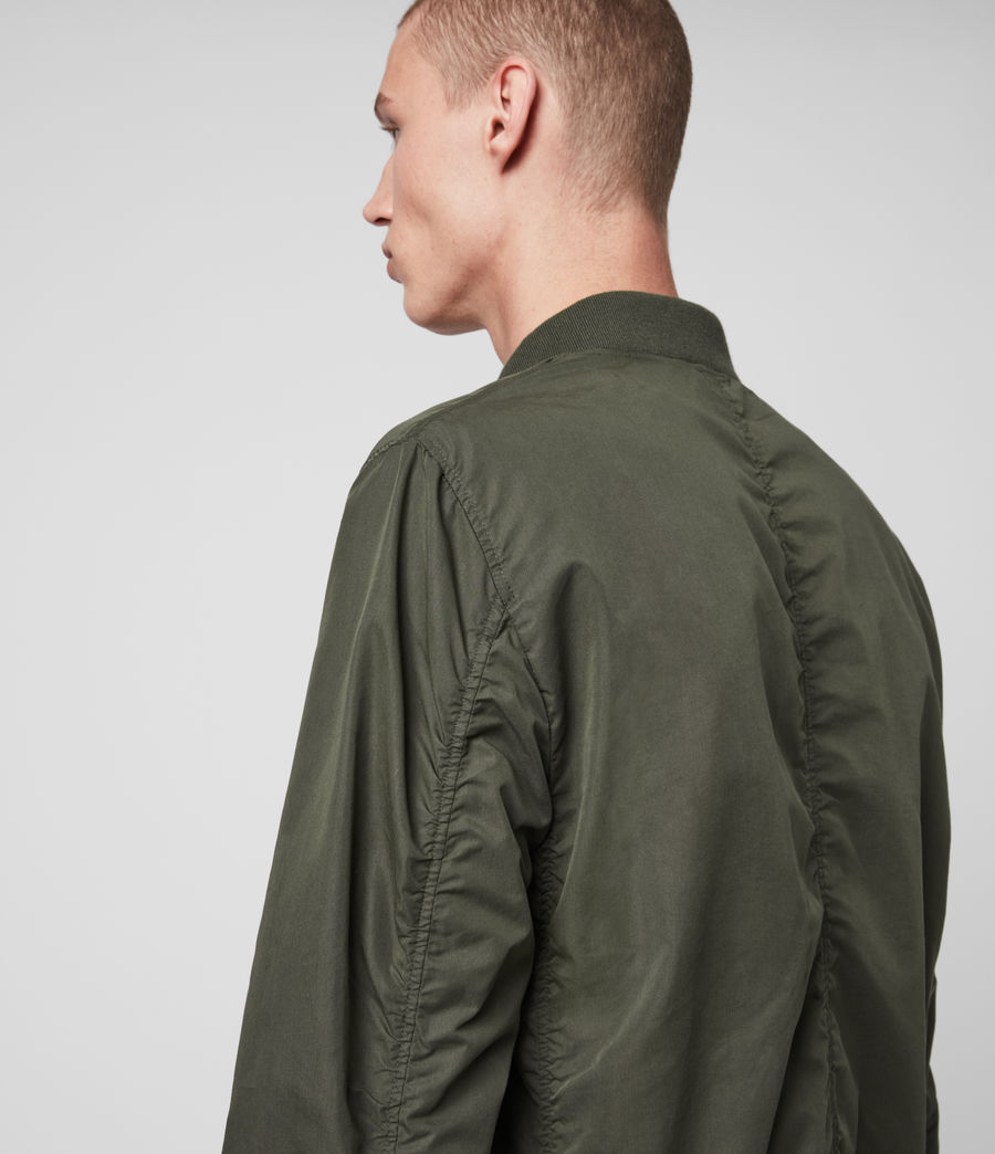 Men's Bassett Bomber Jacket (khaki_green) - Image 5