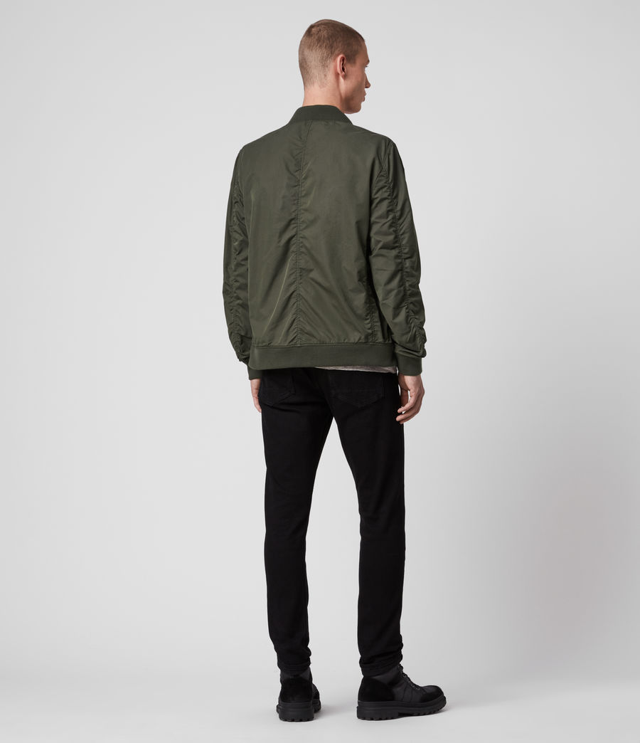 Men's Bassett Bomber Jacket (khaki_green) - Image 6