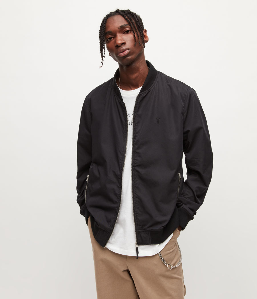Men's Bassett Bomber Jacket (black) - Image 1