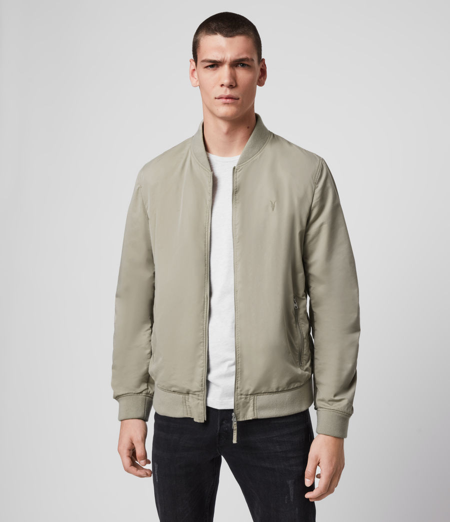 Men's Bassett Bomber Jacket (sutro_grey) - Image 1