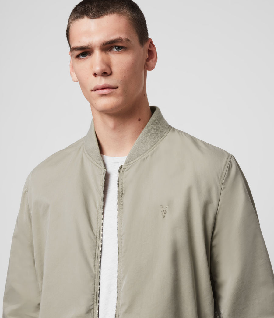 Men's Bassett Bomber Jacket (sutro_grey) - Image 2