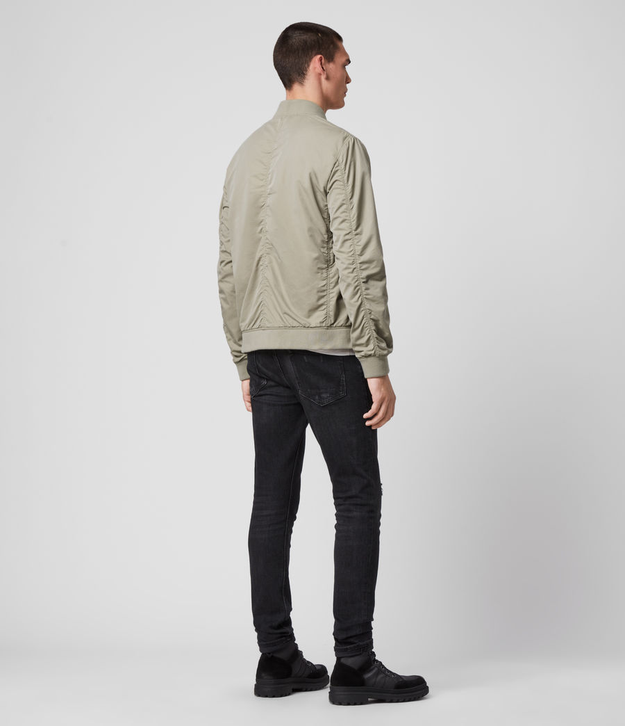 Men's Bassett Bomber Jacket (sutro_grey) - Image 3