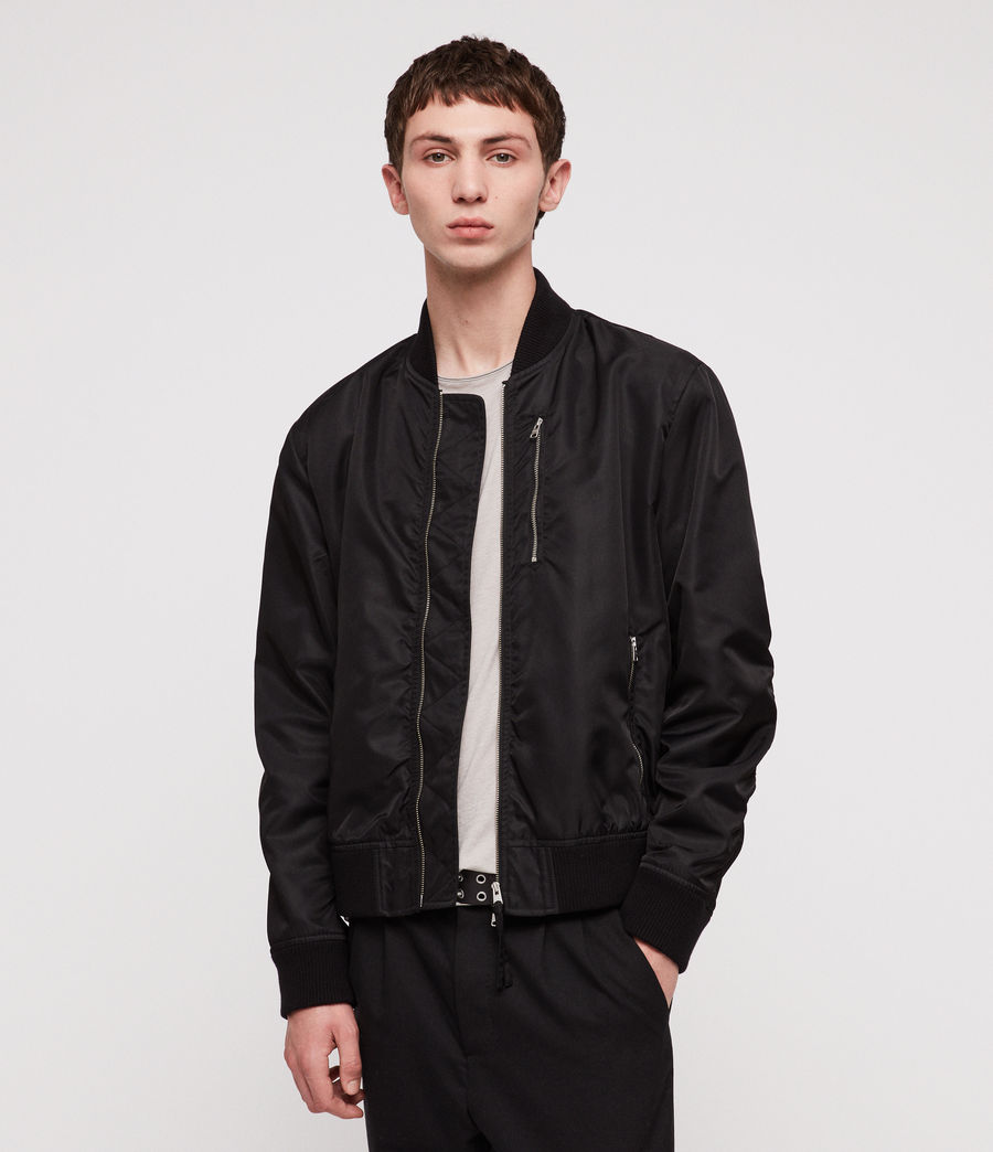 Men's Noma Bomber Jacket (black) - Image 1