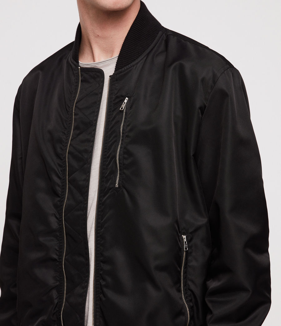 Men's Noma Bomber Jacket (black) - Image 2