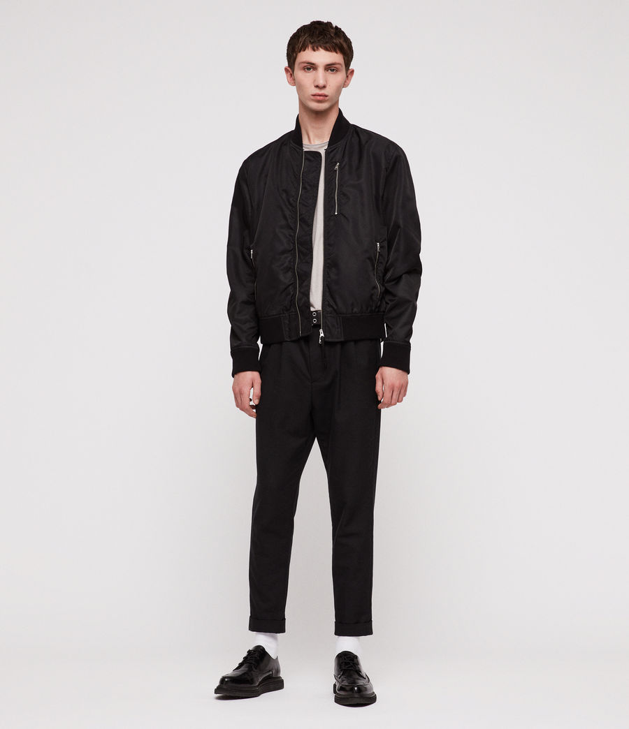 Men's Noma Bomber Jacket (black) - Image 3