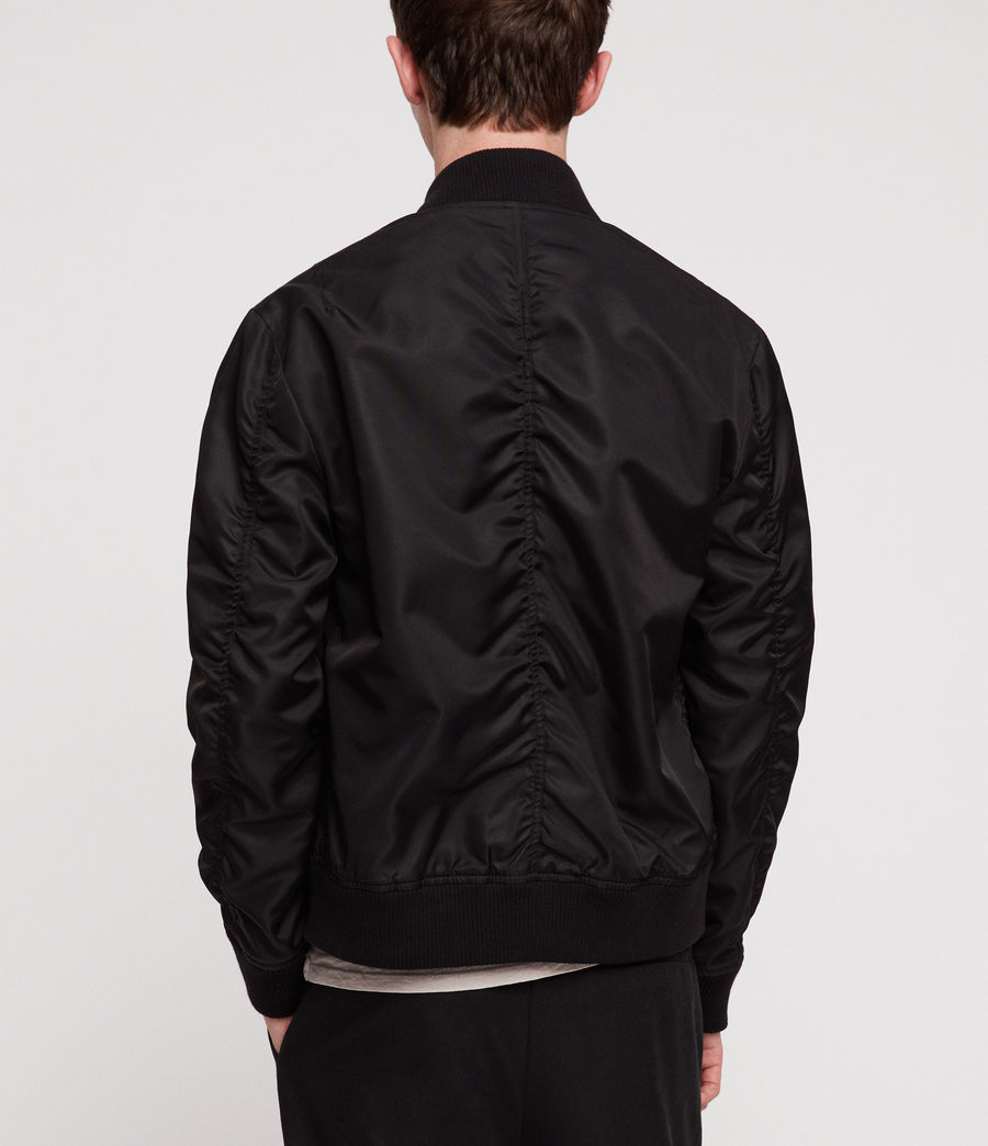 Men's Noma Bomber Jacket (black) - Image 4