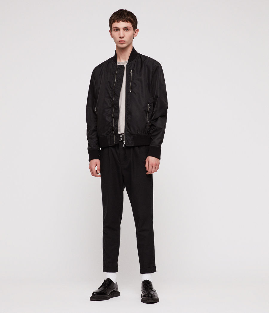 Men's Noma Bomber Jacket (black) - Image 5