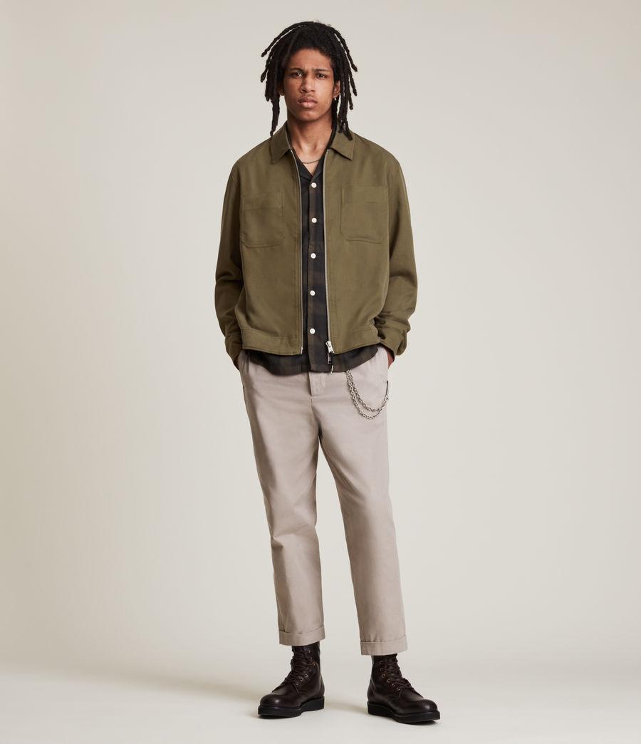 Men's Wake Jacket (faded_khaki) - Image 1