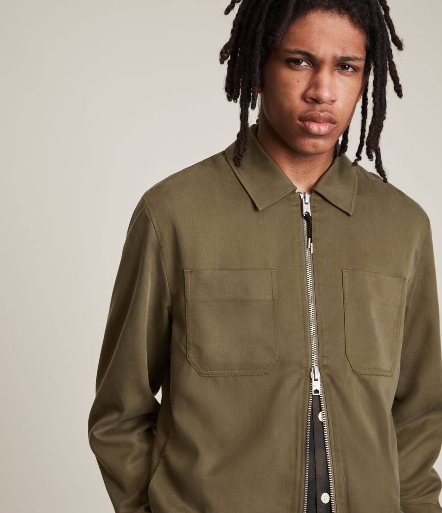 Men's Wake Jacket (faded_khaki) - Image 4