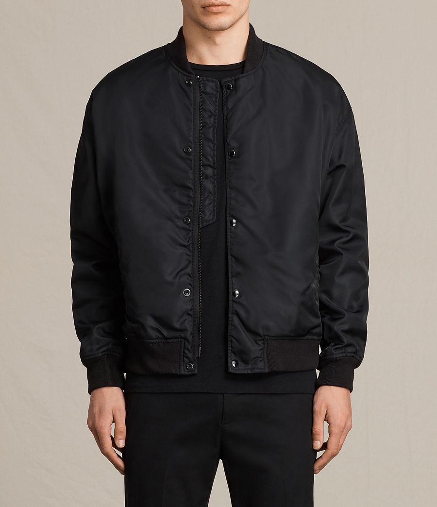 Herren Kitson Bomber Jacket (black) - Image 1