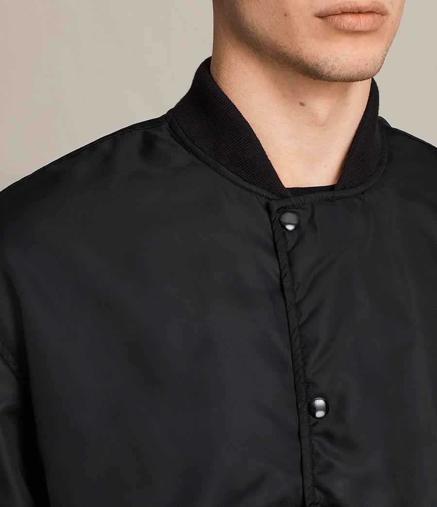 Men's Kitson Bomber Jacket (black) - Image 2