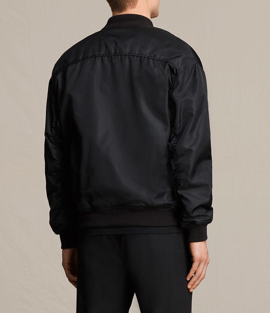 Herren Kitson Bomber Jacket (black) - Image 4