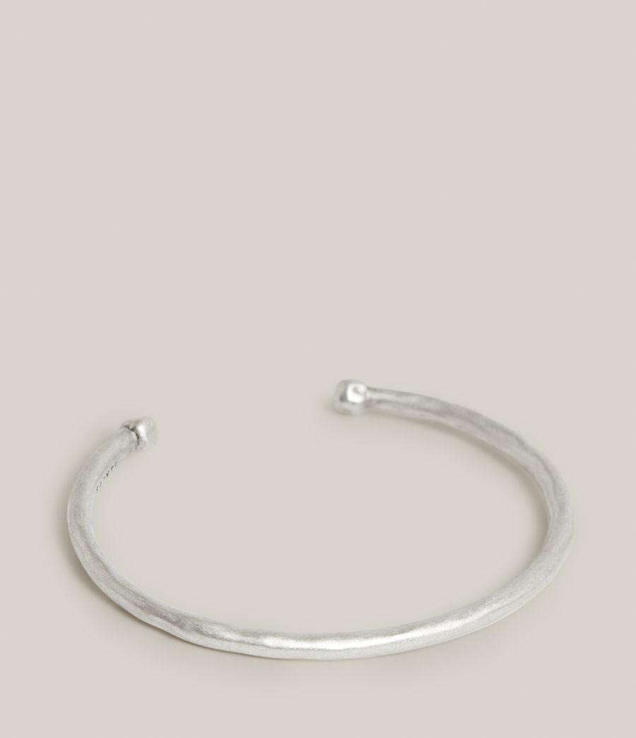 Hommes Finn Sterling Silver Bracelet (warm_silver) - Image 1