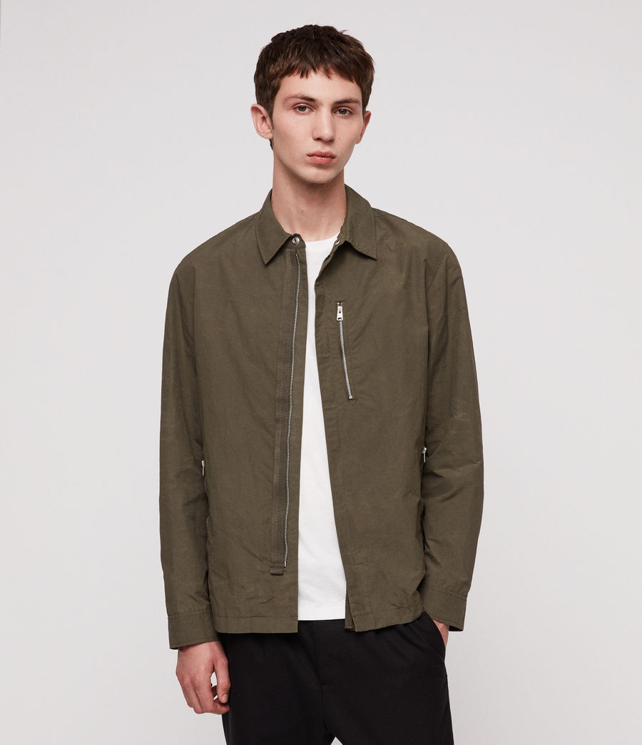 Men's Tama Jacket (desert_khaki_green) - Image 1