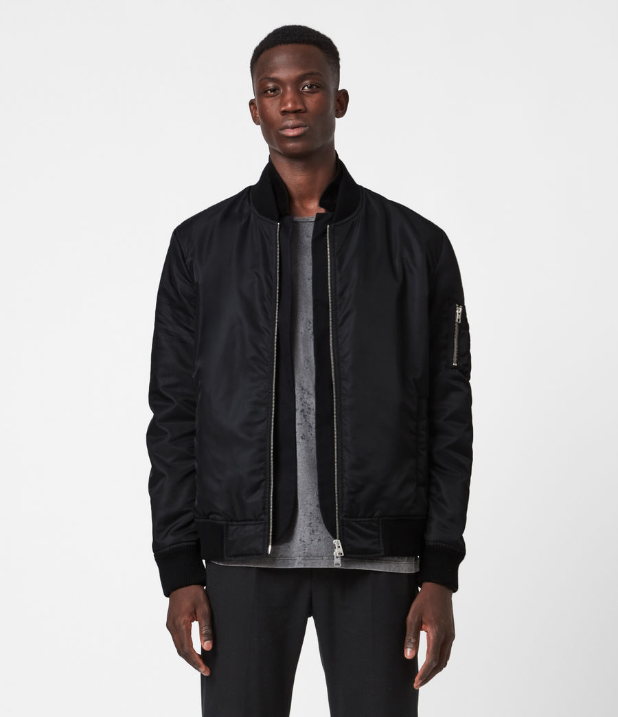 Men's Granthem Bomber Jacket (black) - Image 1