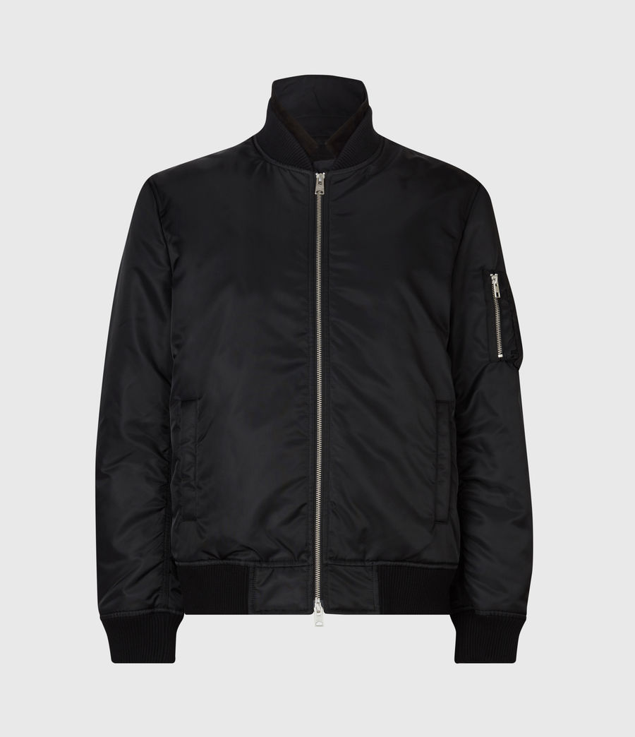 Men's Granthem Bomber Jacket (black) - Image 2