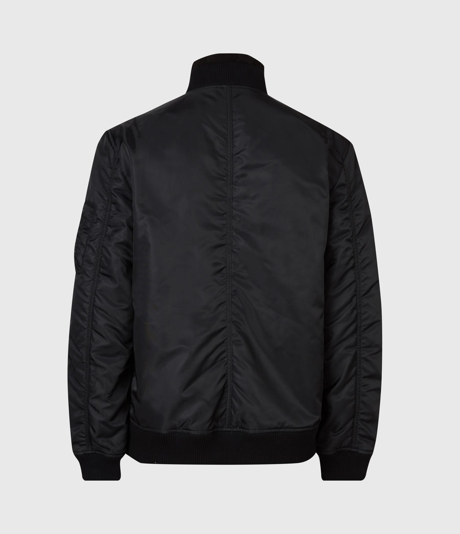Men's Granthem Bomber Jacket (black) - Image 3
