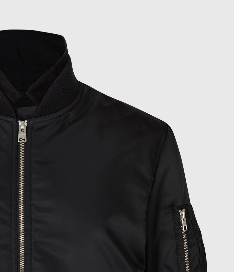 Men's Granthem Bomber Jacket (black) - Image 5