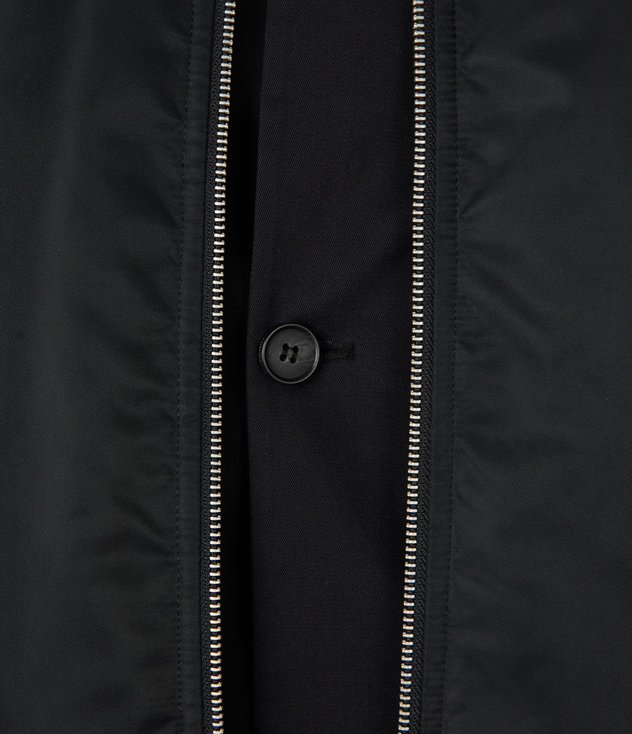 Men's Granthem Bomber Jacket (black) - Image 7