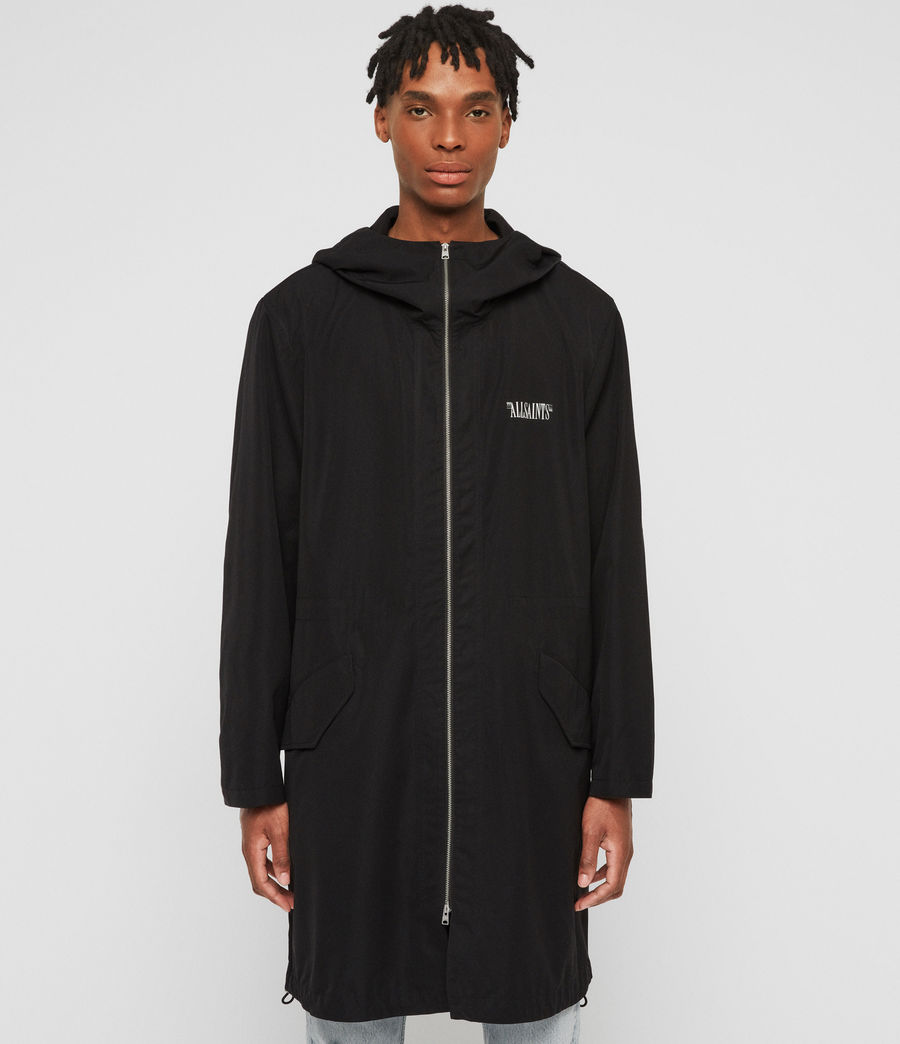 Men's Colville Parka (black) - Image 1