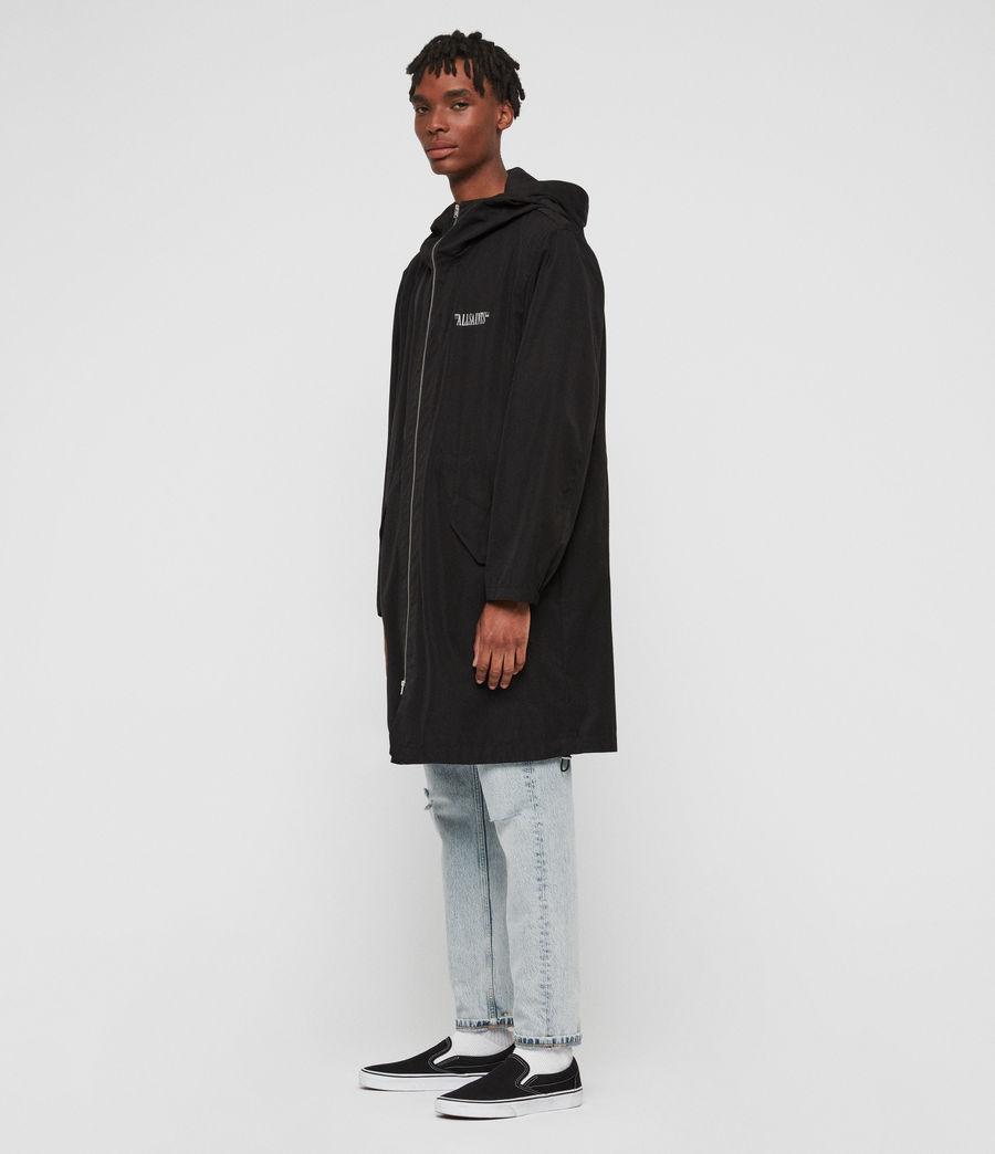 Men's Colville Parka (black) - Image 2