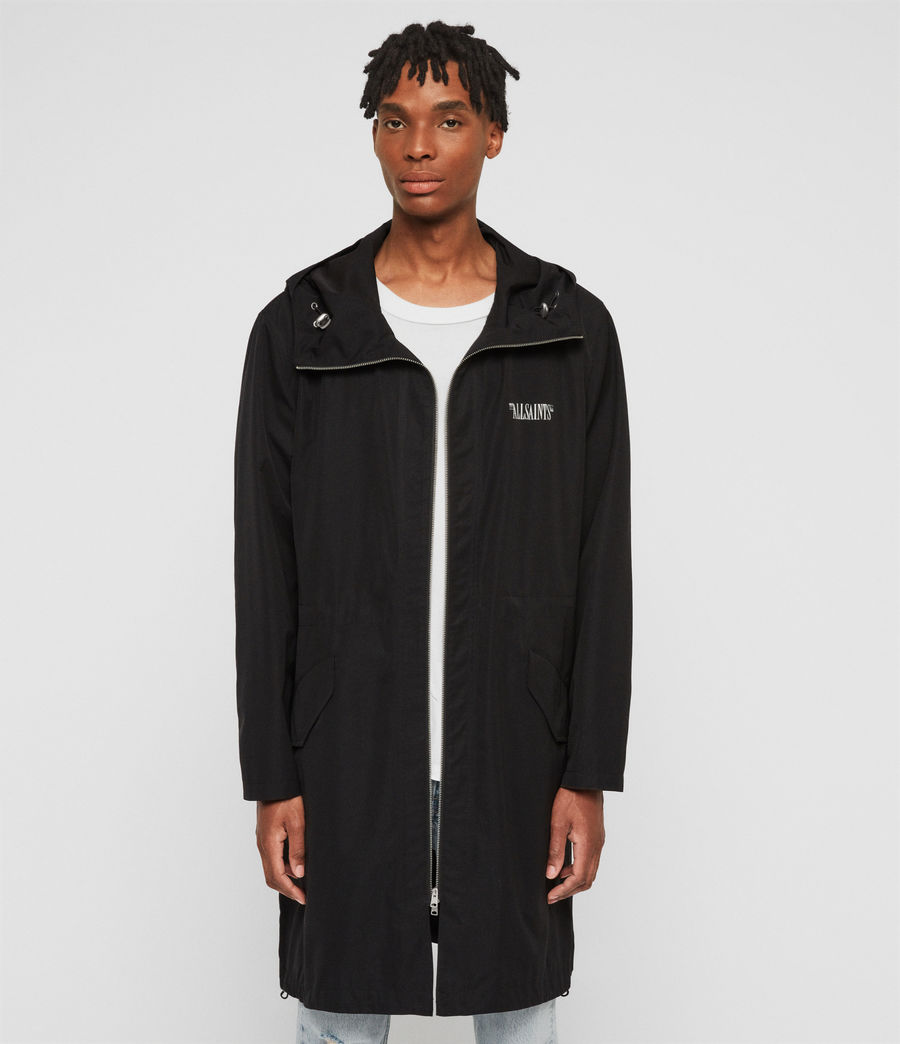Men's Colville Parka (black) - Image 4