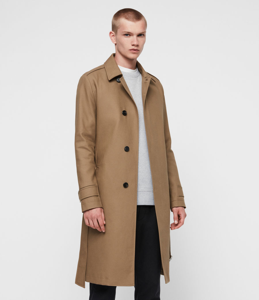 Mens Apsley Mac (sand_brown) - Image 1