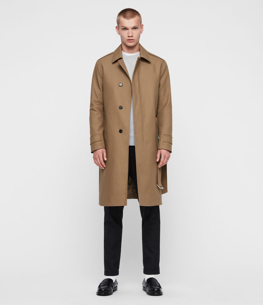 Mens Apsley Mac (sand_brown) - Image 2